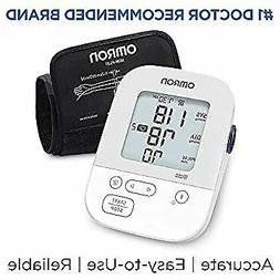 Silver Blood Pressure Monitor, Upper Arm Cuff, Digital Bluet