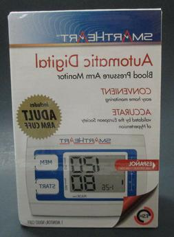 SMART HEART AUTOMATIC DIGITAL BLOOD PRESSURE ARM MONITOR NEW