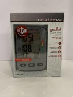 SmartHeart Blood Pressure Monitor With WIDE-RANGE ARM CUFF