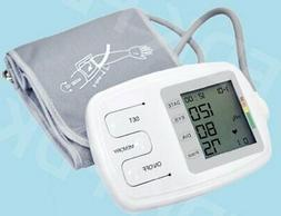 Talking Upper Arm Blood Pressure Monitor EXTRA LARGE CUFF He