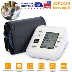 Upper Arm Blood Pressure Monitor Digital Cuff FDA Approved P