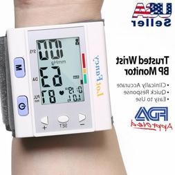 USA FDA Blood pressure monitor wrist type auto Heart Beat Ra