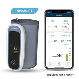 Wireless Bluetooth Blood Pressure Cuff Monitor with Fingerti
