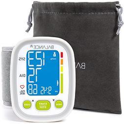 Wrist Blood Pressure Monitor High Accuracy Readings Travel B