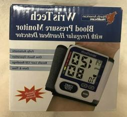WrisTech Blood Pressure Monitor. Automatic BP Cuff One Size
